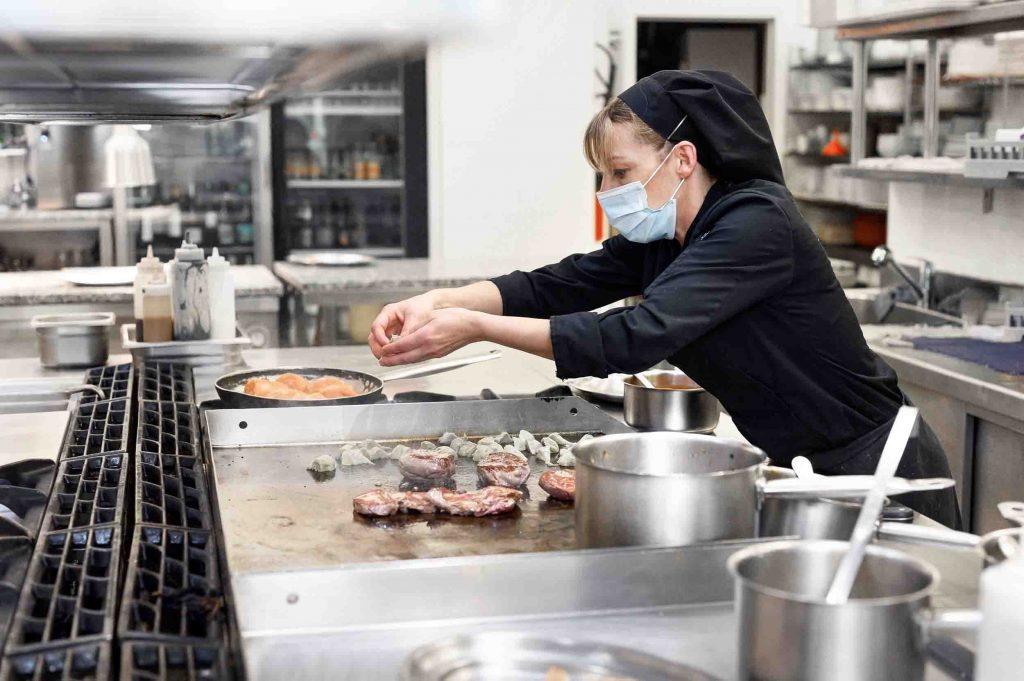Pulizia cucina ristorante