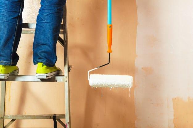 Come pulire casa dopo aver imbiancato